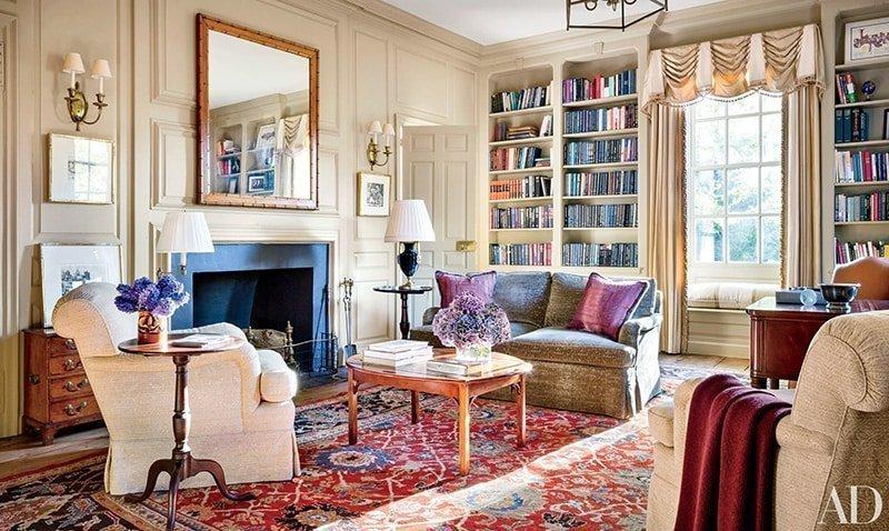 Vintage Carpets Add Color by Nazmiyal