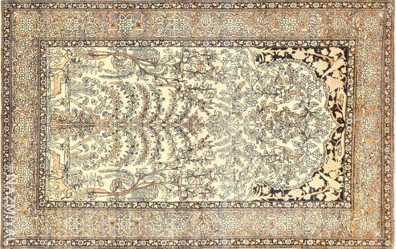 Antique Persian Isfahan | Nazmiyal